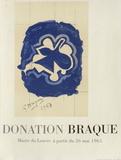Expo 65 - Musée du Louvre Stampa da collezione di Georges Braque