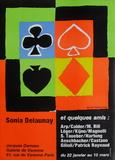 Expo 76 - Galerie de Varenne Jacques Damase Impressão colecionável por Sonia Delaunay-Terk