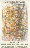 Expo 74 - Macon Musée des Ursulines Collectable Print by Camille Bryen