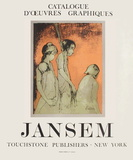 Expo 70 - Touchstone Publishers Samlarprint av Jean Jansem