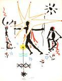 L'âge du verseau : l'étoile Serigraph by Jean Cocteau
