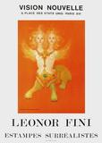 Expo Vison Nouvelle Affischer av Leonor Fini
