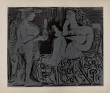 LC - Deux femmes Impressão colecionável por Pablo Picasso