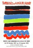 Expo 73 - Musée d'Art Moderne Tapisseries Premium-versjoner av Sonia Delaunay-Terk
