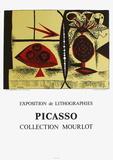 Expo 88 - Collection Mourlot Impressão colecionável por Pablo Picasso