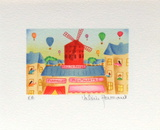 Paris, Le MouIIn Rouge Collectable Print by Valérie Hermant