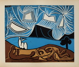 LC - Bacchanale II Impressão colecionável por Pablo Picasso