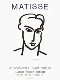 Expo 64 - Galerie Adrien Maeght Reproduction pour collectionneur par Henri Matisse