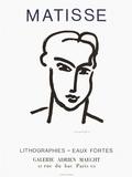 Expo 64 - Galerie Adrien Maeght Samlertryk af Henri Matisse