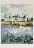 Chaâteau de Chambord Collectable Print by Michel Rodde