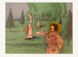 Automne a Versailles Limitierte Auflage von Jean Carzou