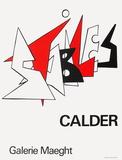 Expo 63 - Galerie Maeght Reproduction pour collectionneur par Alexander Calder