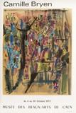 Expo 72 - Musée des Beaux Arts de Caen Lámina coleccionable por Camille Bryen
