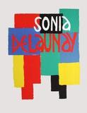 Musée National D'Art Moderne Premium-versjoner av Sonia Delaunay-Terk
