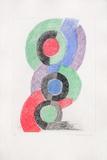 Rythmes colorés Edição limitada por Sonia Delaunay-Terk