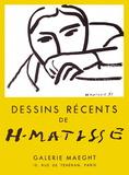 Expo 52 - Galerie Maeght Sammlerdrucke von Henri Matisse