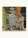 Expo 61 - Musée Galliéra (avant la lettre) Sammlerdrucke von Georges Braque