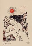 Soleil rouge Edición limitada por Alexandre Fassianos