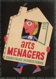 Salon des Arts Ménagers 55 Impressão colecionável por Francis Bernard