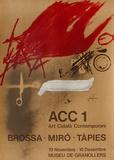 Expo 77 - Museu de Granollers Samlertryk af Antoni Tapies