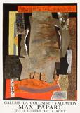 Expo Vallauris Galerie La Colombe Lámina coleccionable por Max Papart