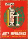 Salon des Arts Ménagers 62 Impressão colecionável por Francis Bernard