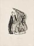 Portraits V : Les deux clowns Limitierte Auflage von Charles Lapicque