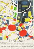 Expo 57 - Galerie Villand Galanis Lámina coleccionable por Jacques Lagrange