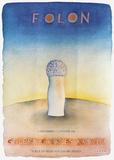 Expo 1980 - Galerie Charles Kriwin Samlarprint av Jean Michel Folon
