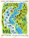 Expo 62 - Salon de Mai Samlertryk af André Masson