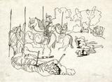 PA - Le tigre des Ming 15 Limitierte Auflage von Charles Lapicque