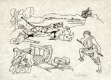 PA - Le tigre des Ming 11 Limitierte Auflage von Charles Lapicque