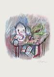 Eléphant I Samlertryk af Julio Pomar