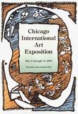 Expo 132 - Chicago Art Exposition Keräilyvedos tekijänä Pierre Alechinsky