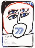 Expo 064 - Revue de l'Art Actuel Keräilyvedos tekijänä Pierre Alechinsky