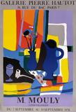 Expo 74 - Galerie Hautot Samlertryk af Marcel Mouly