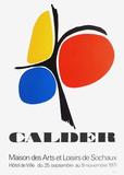 Expo 71 - Sochaux Reproduction pour collectionneur par Alexander Calder