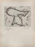 Composition 421 Edição limitada por Jean Arp