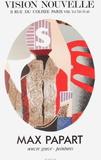 Expo 77 - Vision Nouvelle Lámina coleccionable por Max Papart