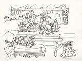 PA - Le tigre des Ming 12 Limitierte Auflage von Charles Lapicque