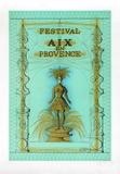 Festival Aix en Provence Keräilyvedos tekijänä Jean Carzou