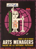 Salon des Arts Ménagers 61 Impressão colecionável por Francis Bernard