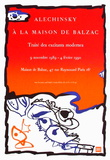 Expo 125 - Maison de Balzac Keräilyvedos tekijänä Pierre Alechinsky