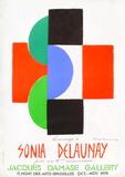 Expo 75 - Galerie Jacques Damase Impressão colecionável por Sonia Delaunay-Terk