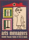 Salon des Arts Ménagers 58 Impressão colecionável por Francis Bernard