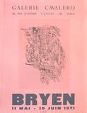 Expo 71 - Galerie Cavalero Lámina coleccionable por Camille Bryen