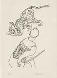 PA - Le tigre des Ming 09 Limitierte Auflage von Charles Lapicque