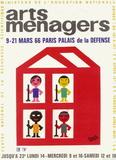 Salon des Arts Ménagers 66 Impressão colecionável por Francis Bernard