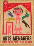 Salon des Arts Ménagers 57 Impressão colecionável por Francis Bernard
