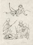 PA - Le tigre des Ming 14 Limitierte Auflage von Charles Lapicque